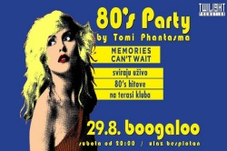 80's Party, 17.11.2018., Boogaloo, Zagreb