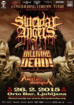 SUICIDAL ANGELS + DR. LIVING DEAD + ANGELUS APATRIDA