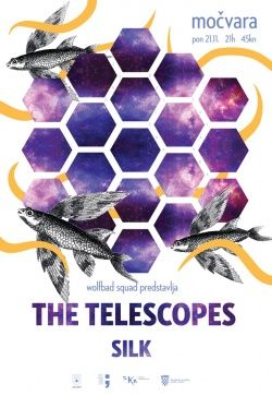 THE TELESCOPES u Močvari 21.11.2016.