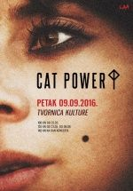 CAT POWER u Tvornici kulture 09.09.2016.