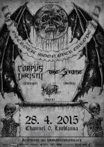 Corpus Christii (Pt) + The Stone (Ser) + Muert (Spa) u Channel Zeru, 28.04.2015.