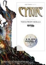 Cynic, Tides From Nebula, Onward With Love u Ljubljani, Channel Zero 08.10.2015.