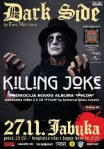 Dark Side - Killing Joke night - promocija novog albuma ''Pylon'' u Jabuci 27.11.2015.