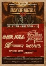 DAY OF METAL FEST 2015 (Overkill-Death DTA-Sanctuary...)