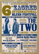 6th ZAGREB INTERNATIONAL BLUES FESTIVAL 28.4. - 01.05.2015.