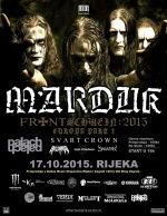 MARDUK - Frontschwein: 2015 Europe tour part 3 / OKC Palach 17.10.2015.