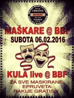 Maškare W/Kula u Bikers Beer Factory-u 06.02.2016.
