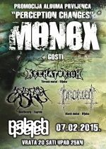 Monox Promocija albuma '' Perception Changes '' u Palachu