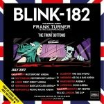 BLINK-182 - July 27th, Barclaycard Arena, Birmingham