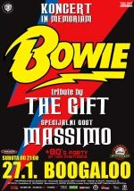 Koncert in memoriam David Bowie - The Gift i Massimo 27 01 Boogaloo Zagreb