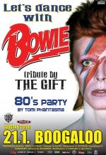 LET'S DANCE WITH BOWIE - tribute by The Gift u klubu Boogaloo 21.01.2017.