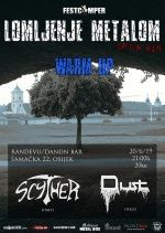 LOMLJENJE METALOM - WARM UP, 20.06.2019., Randevu/DANĐN Bar, Osijek