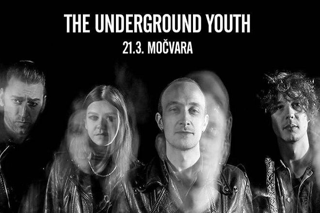 THE UNDERGROUND YOUTH 21.03. u Močvari