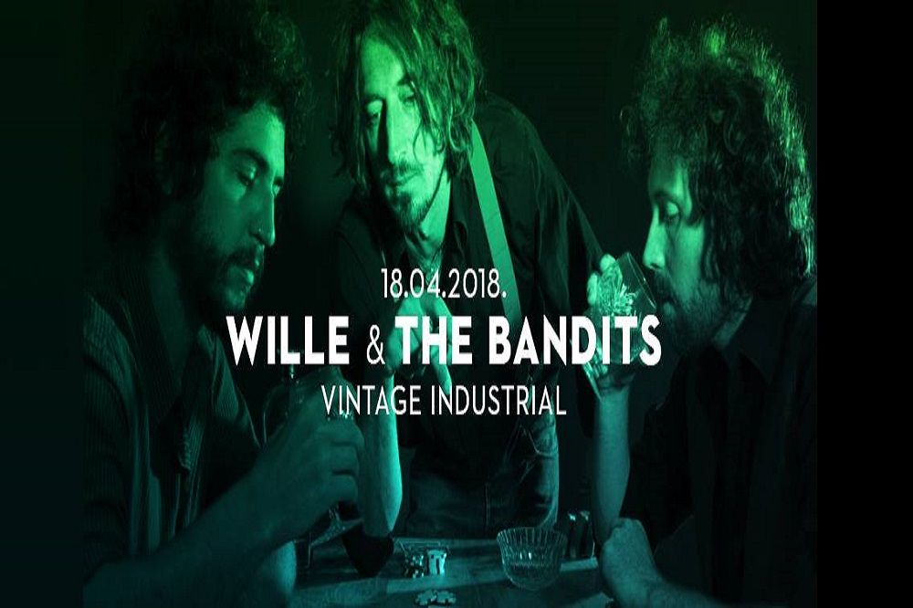 WILLE & THE BANDITS, 18.04.2018., Vintage Industrial Bar, Zagreb
